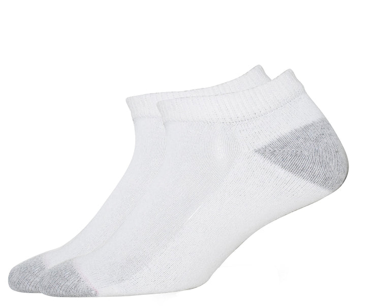 Hanes Women's Low Cut Comfort Toe Seam Cushion 3 Pair Value Pack Socks Size 5-9