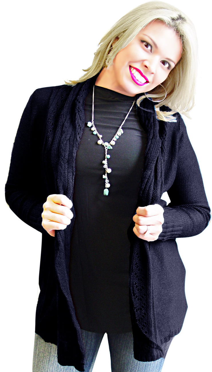 A2207-Knit-Cardigan-Black-XL