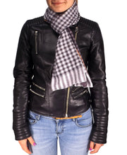 B1975-Checkered-Plaid-Scarf-Black-AC