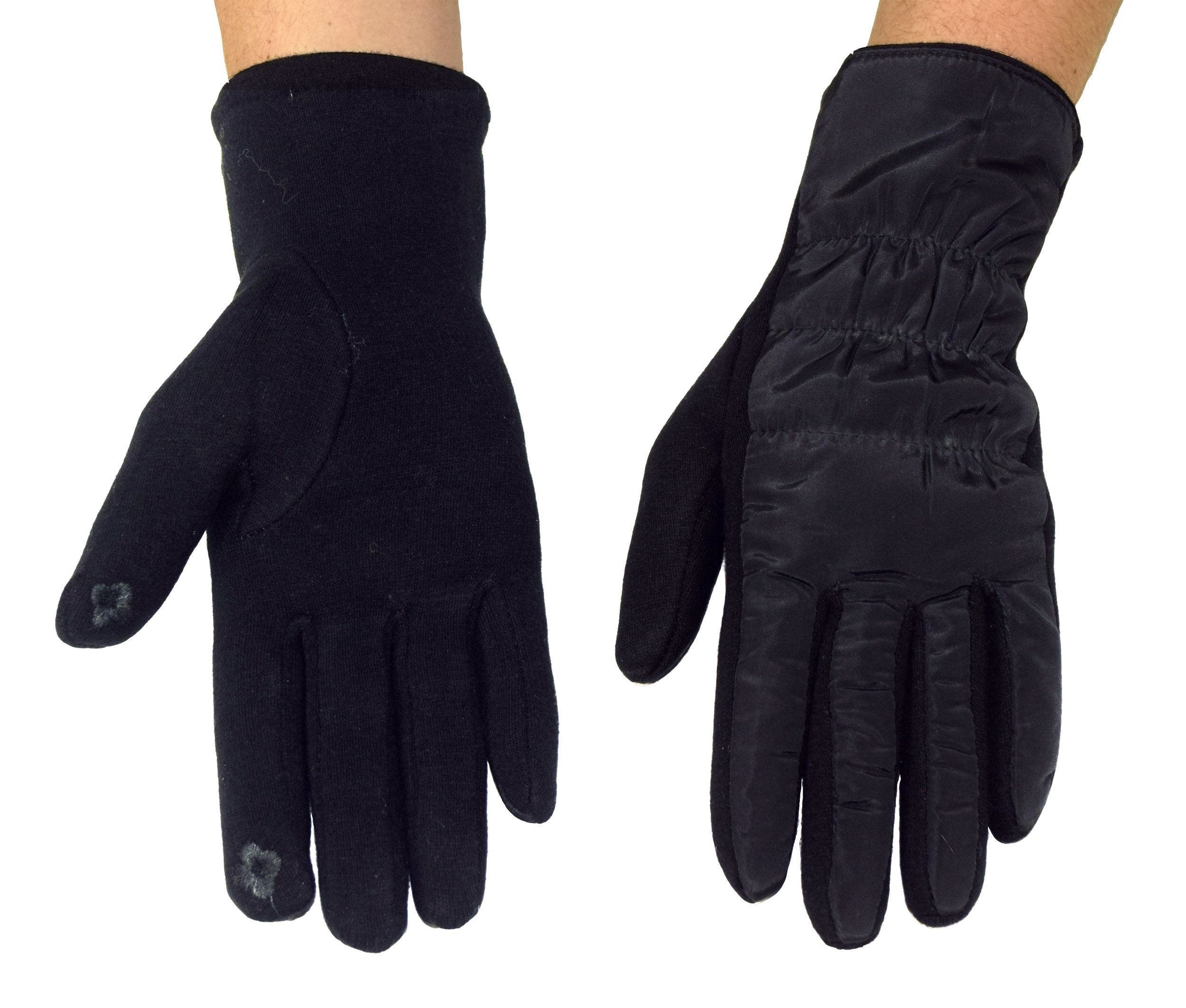 Fleece-Lined Winter Touchscreen Gloves