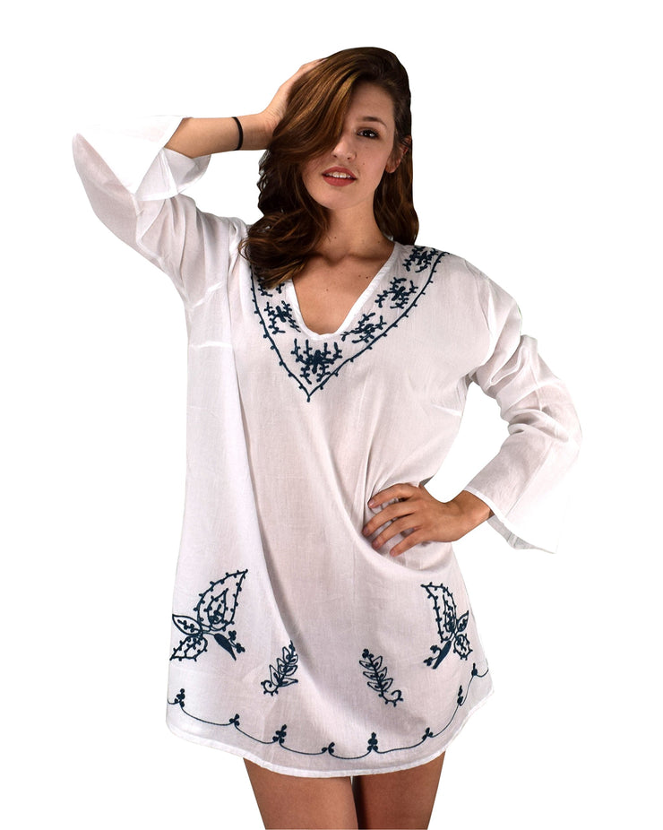 B0532-Embroidrd-Tunic-White-LXL-AJ