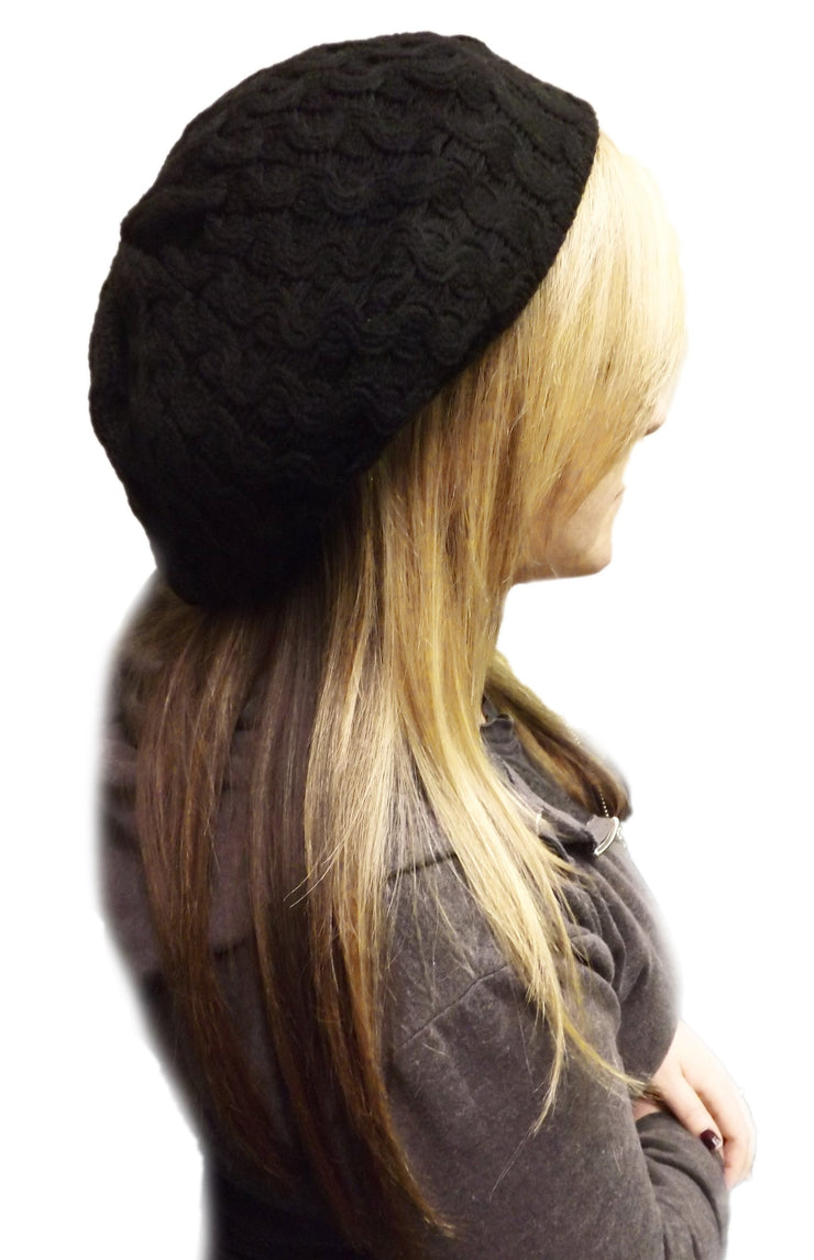 Womens Stylish & Warm Slouchy Fall/Winter Beret/Hat/Cap