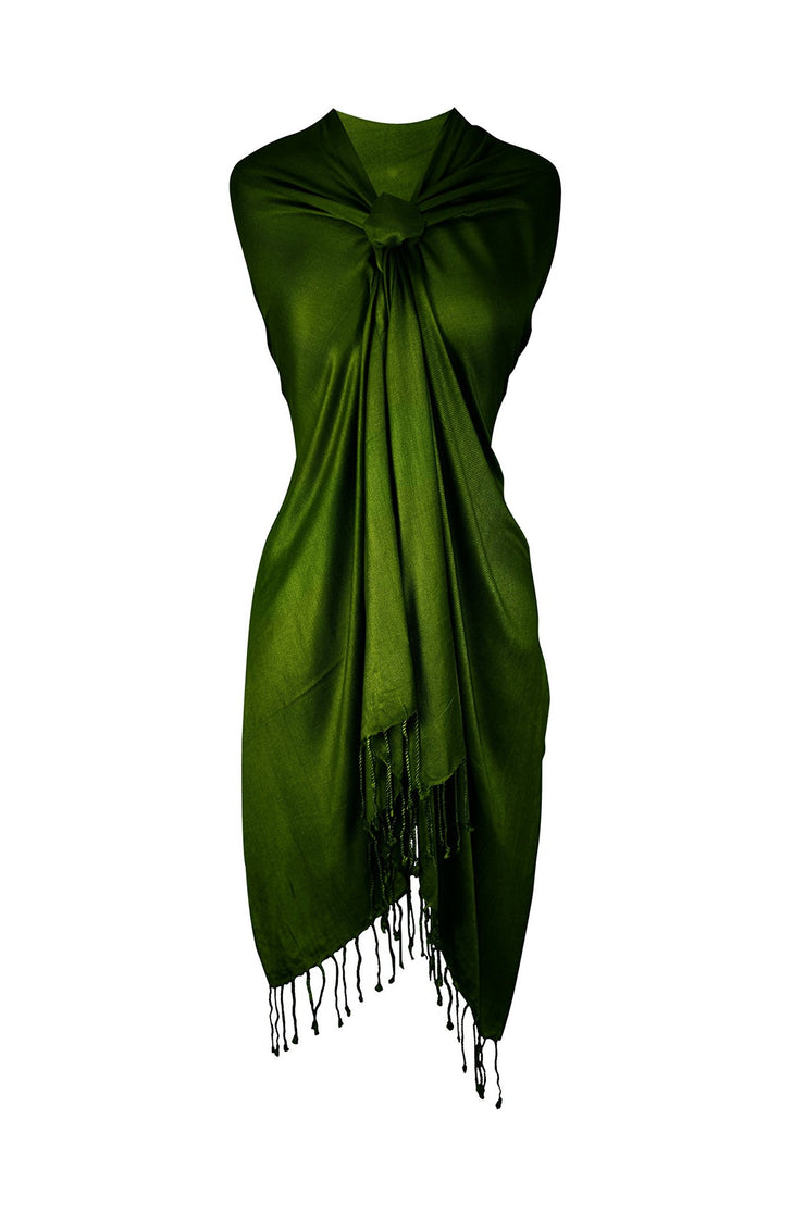Forest Green Pashmina Scarf