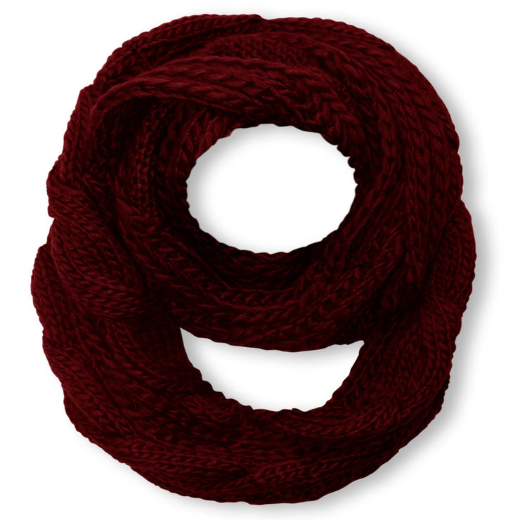 A3606-Cable-Knit-Loop-Maroon-JG