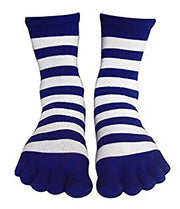 A2594-Toe-Socks-Blu-Whi-Or-Nav-KL