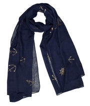 B8725-Nautical-Scarf-Navy-OS