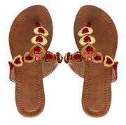 A8633-Heart-Sandal-Thong-Red-6-KN