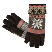 C5903-Glove-Snowflake-610-Brown-AS
