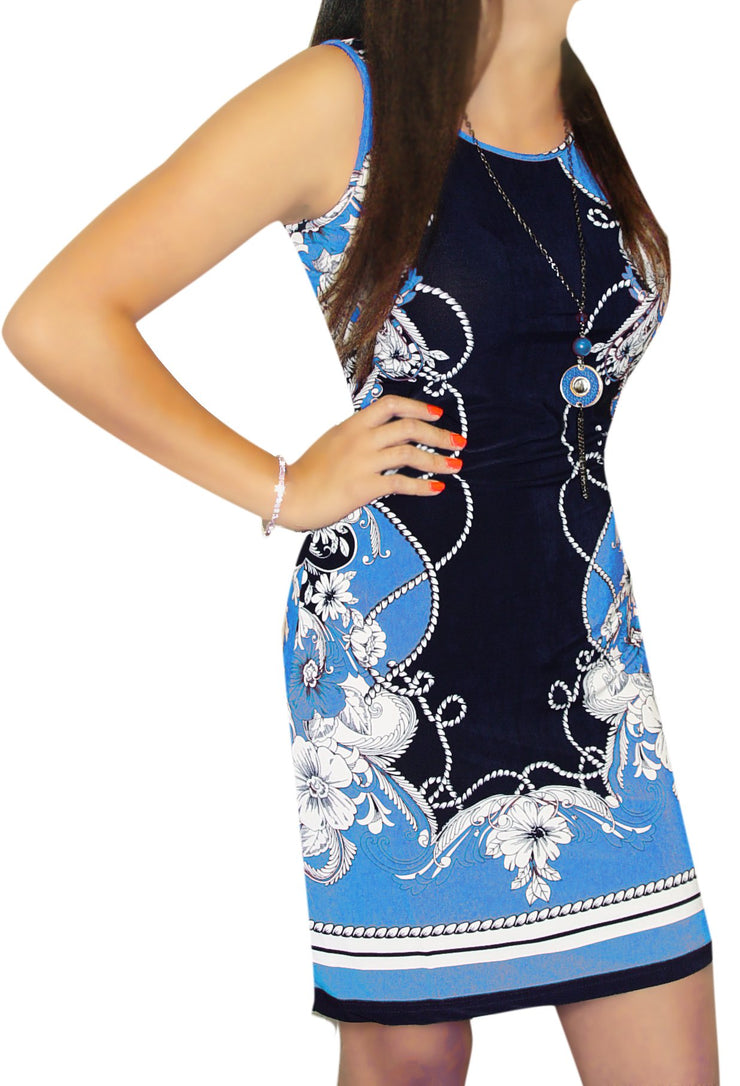 81288A-LeFleurShiftDress-BLUE-Med