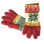 C5904-Glove-Snowflake-610-Pink-AS