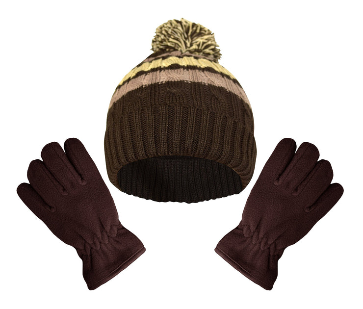 B6103-HatGloves-Set-Brown-AJ