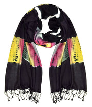 B0785-TieDye-Scarf-BlkRbow-SD