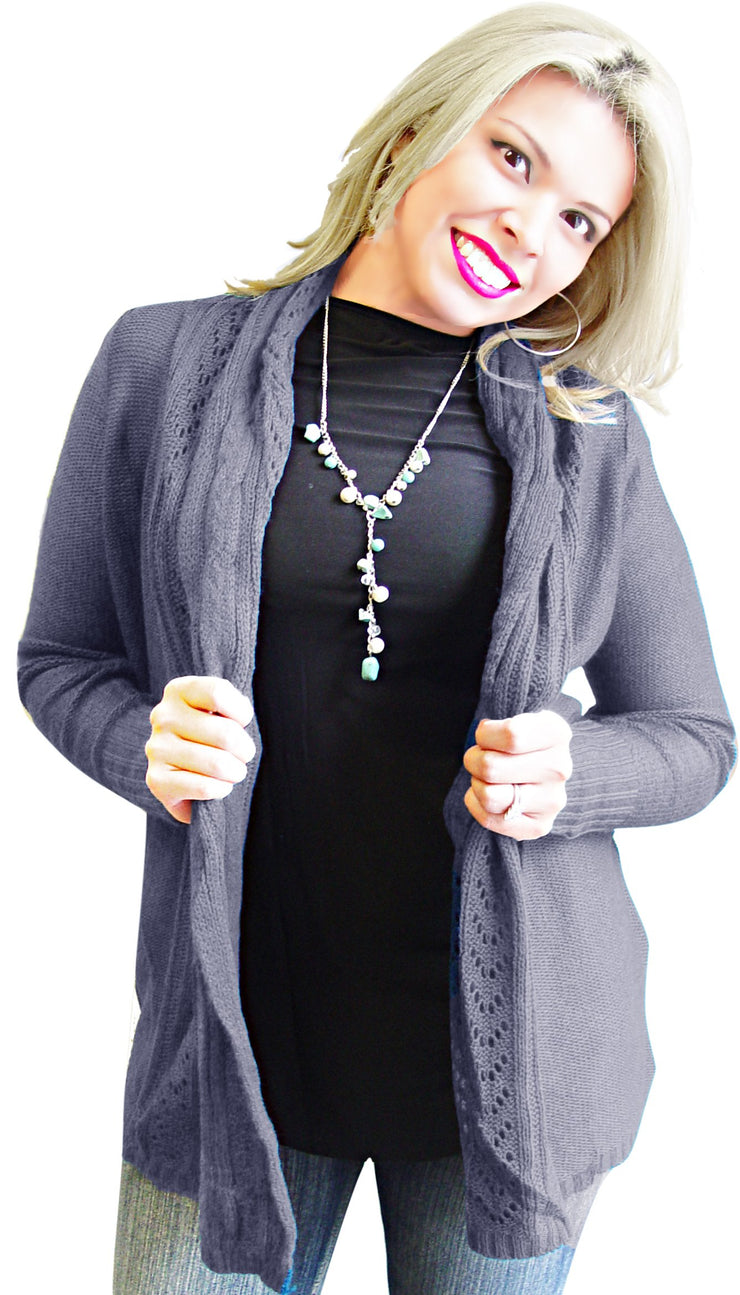 A2207-Knit-Cardigan-Grey-XL