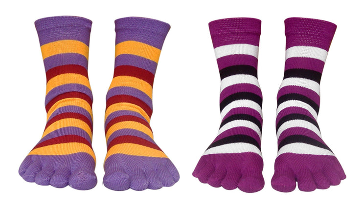 A2551-Stripe-Toe-Sock-Purp-Yell-KL
