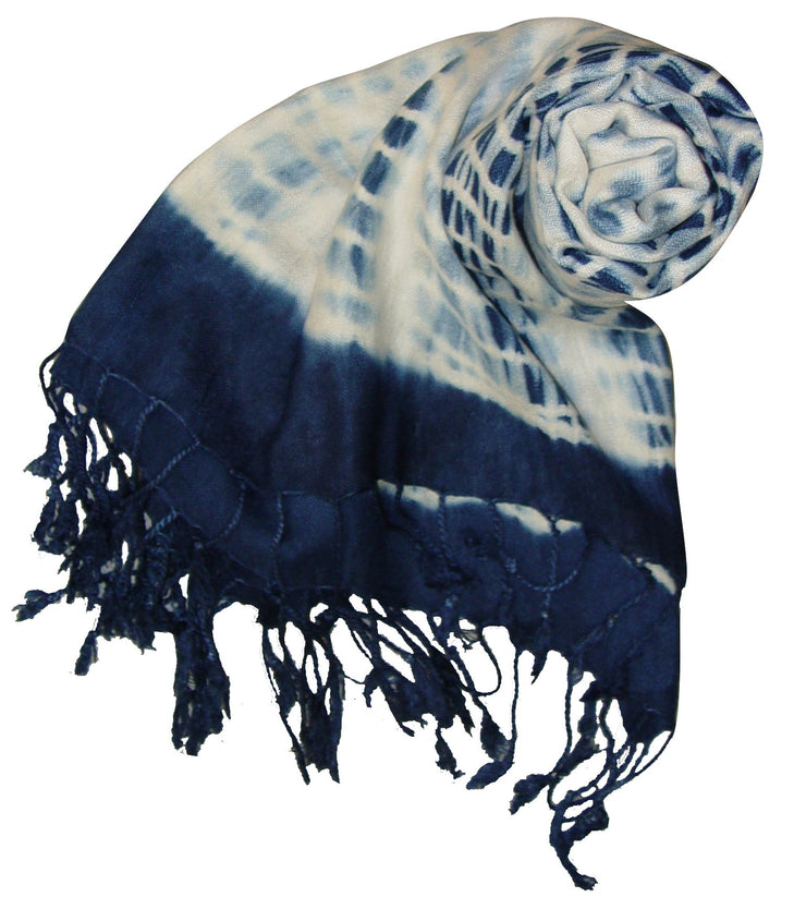 Peach Couture® Exclusive Designer Popular Faded Tie Dye Pashmina/shawl