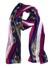 Summer Fashion Sheer Lightweight Paisley Stole Skinny Scarf