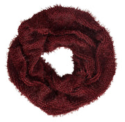 Modish Faux Fur Warm Cozy Winter Infinity Loop Cowl Scarves