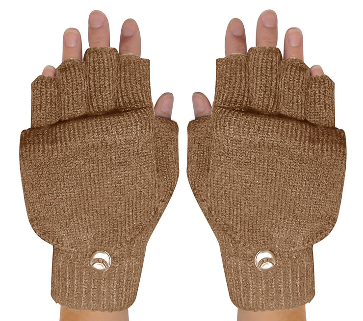 Fingerless-Flap-GL033-Tan-FBA-EHC