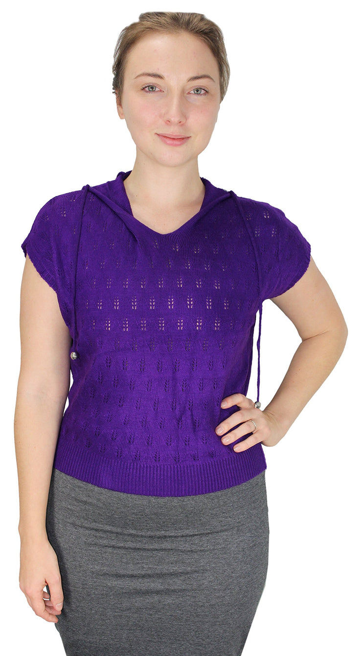 A313-Knit-Hooded-Shirt-Purple-Sm-Med-SI