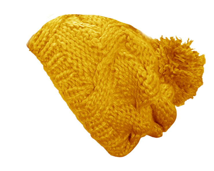 A3283-Hand-Knit-Slouchy-Hat-Mustard-JG