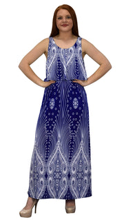 B4922-3366-Maxi-Dress-Ol-Blue-