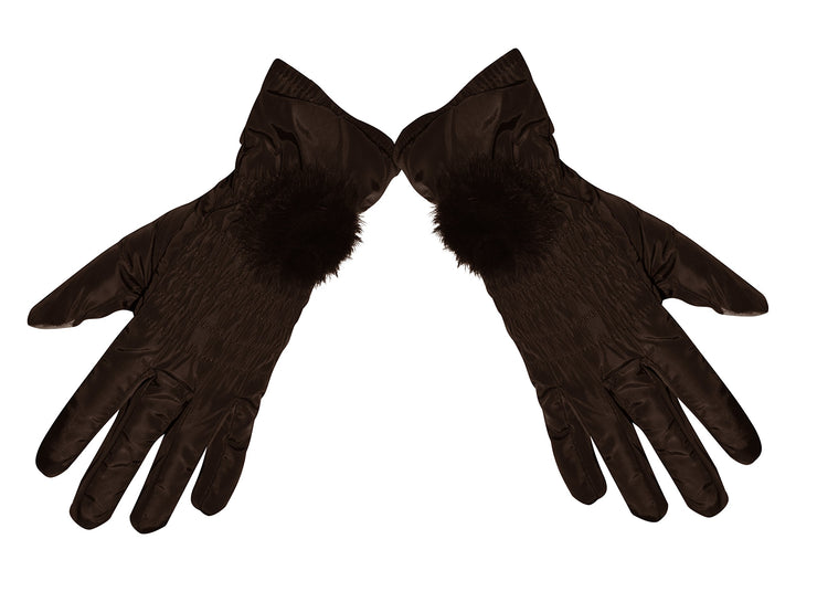 Womens Texting Touchscreen Fleece Lined Winter Driving Gloves