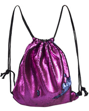 B7105-Sequin-Backpack-Fuchsia-OS