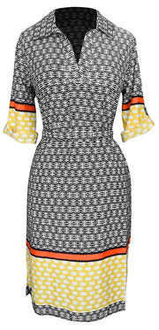 B0439-Multi-Office-Dress-YelOrg-L-SD