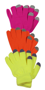 A6613-Neon-Touch-Glove-3-PinkGreeYell-KL