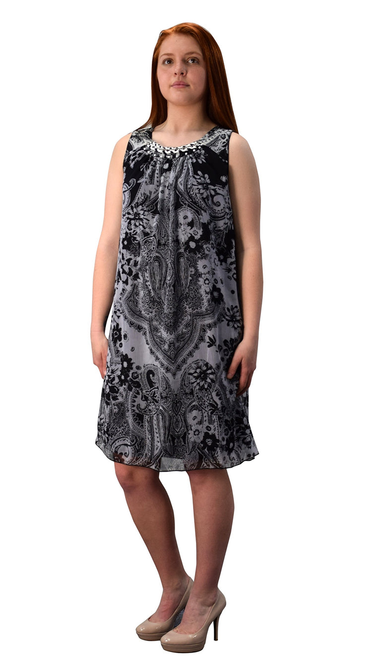 B0368-Paisley-Tnt-Dresses-BLack-XL-AC