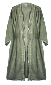 Spa Bathrobe Lightweight Yoga Pajamas Sleepwear Loungewear Full Nightgown Set