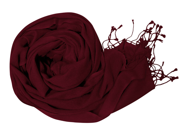 Soft and Elegant 100% Pure Wool Pashmina Shawl Wrap Scarves