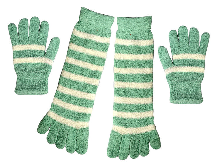 B6085-8313-SocksGlovesFuzzy-Mint-MRS