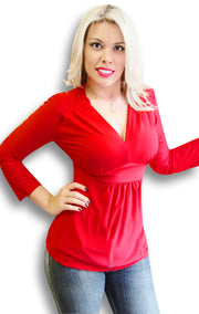 5509-Empire-Waist-Top-Red-Xlarge-SPI