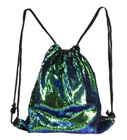 B75160-Sequin-Backpack-Green-OS