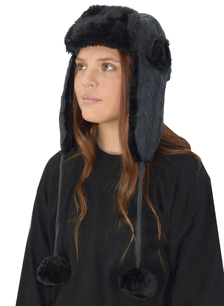 B5871-TPN1249-TrapperHat-Black