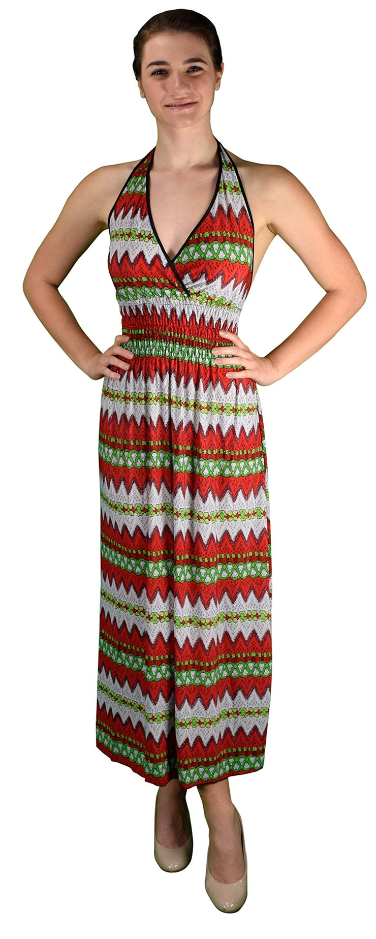 A1810-Halter-Maxi-Dress-Ruby-XL-KL