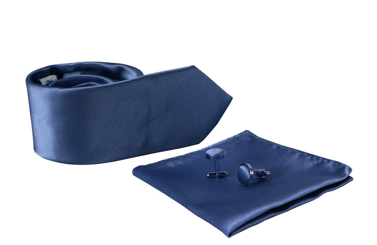 B1425-Necktie-Set-Solid-Blue-A