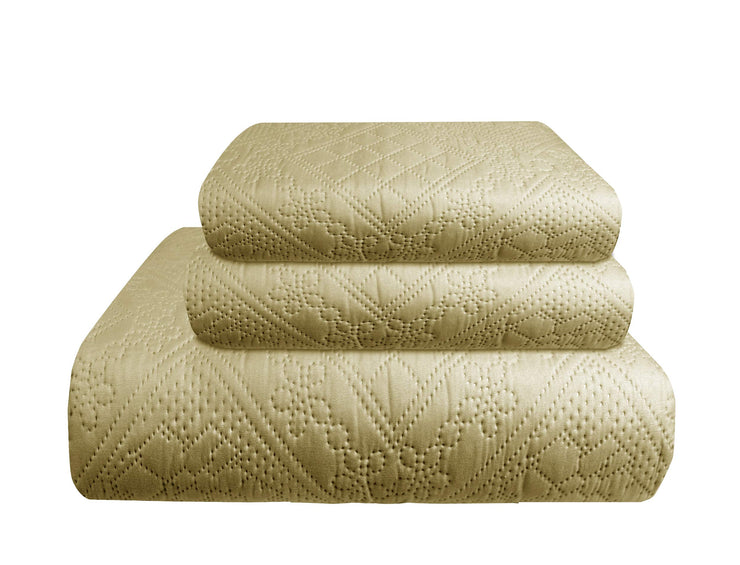 B8826-Embossed-3Pcs-Beige-Queen-OS