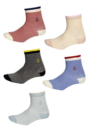 Men's Women's Super Soft and Cozy Comfortable Soft Crew Socks Pack of 5