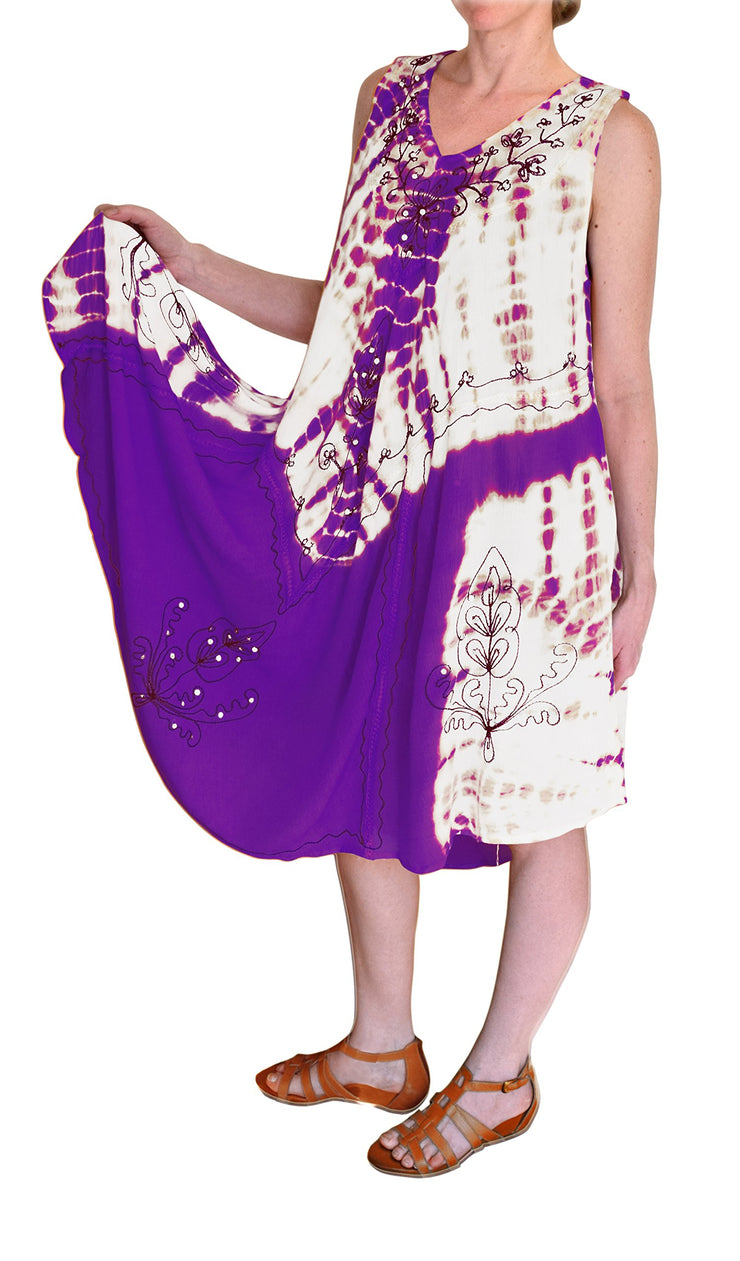 A4494-TieDye-Sequin-Dress-One-Purp-KL