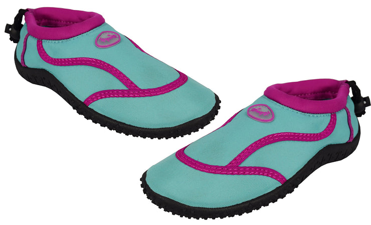 Kids Toddler Girls Athletic Water Shoes Pool Beach Aqua Socks