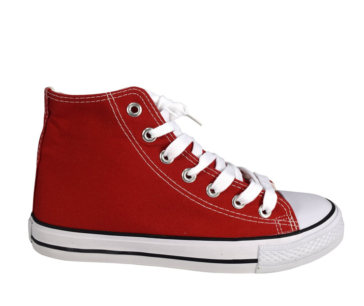 B6490-3017-CasualShoes-Red-10-AJ