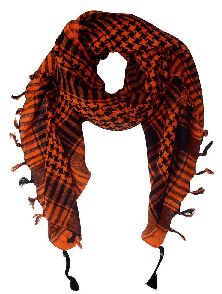 A2661-Shemagh-Scarf-Orange-KL
