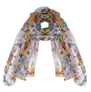 B3686-20253-FloralSCarf-Orange