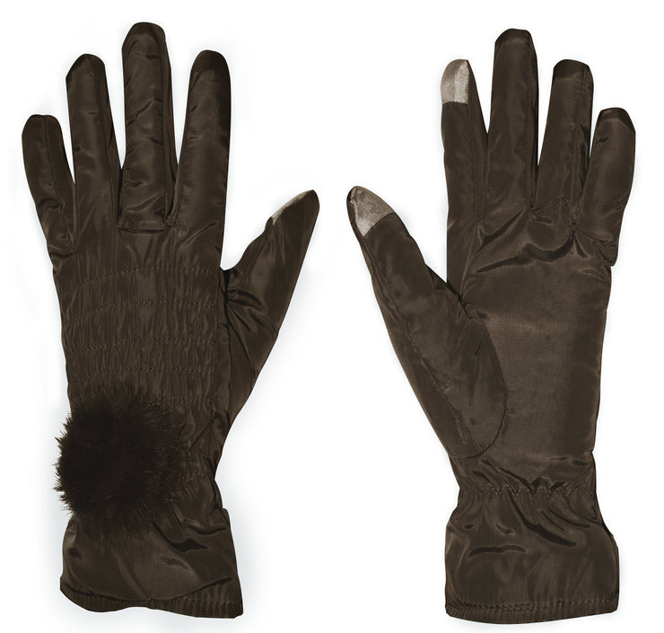 A7993-Nylon-Wmns-Gloves-Taupe-