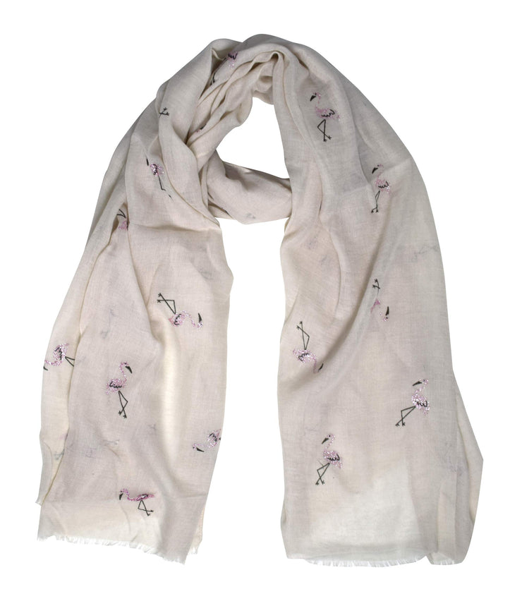 B8731-Flamingo-Scarf-Shawl-Off-OS