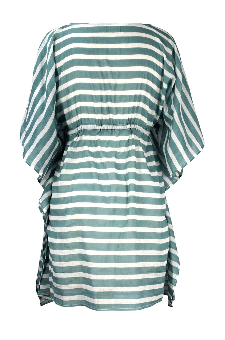 Womens Lightweight Cotton Summer Beach Wear Kaftan Dress Tunic Top