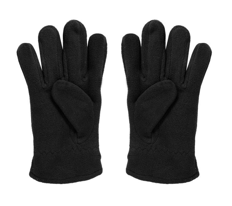 Super Warm Mens Weatherproof Fleece Insulated Winter Snow Ski Gloves Black