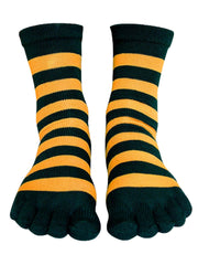 Living Socks Ladies Warm Soft Striped Toe Socks - Variety of Colors 4-10 Shoe